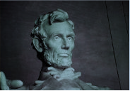Bust of Lincoln at a Government Meeting